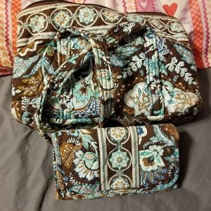 Vera Bradley purse with wallet